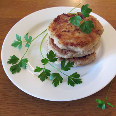 Tuna Fishcakes with Vegetables