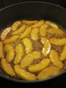 Caramelised-apples