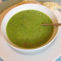 Chunky Pea and Ham soup
