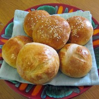 Milk and Honey Bread Rolls