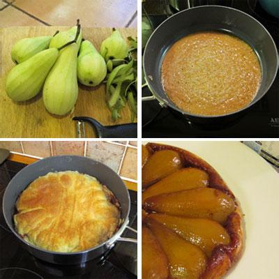 Pear-Tarte-Tatin-steps