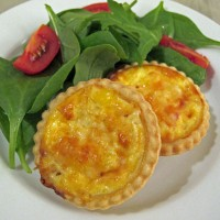 Ham and Sweetcorn mini-quiches