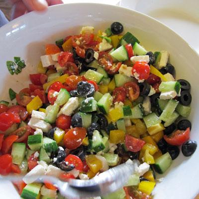 Greek-pasta-salad-prep