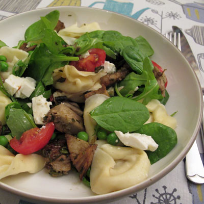 Pork,-Feta-and-Pasta-Salad