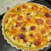 Roast Tomato, Basil and Feta Tart