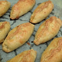 Leftover Lamb Pasties