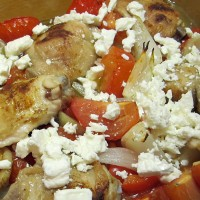Paprika Chicken with Feta