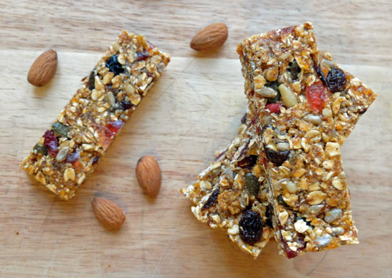 No-bake-Granola-bars