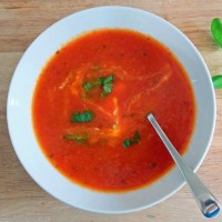 Roast Tomato and Red Pepper Soup